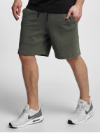Urban Classics Short Interlock olive