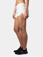 Urban Classics Shorts Space Dye blanc