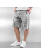 Urban Classics Shorts Checked schwarz