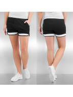 Urban Classics shorts Ladies Terry Mesh zwart