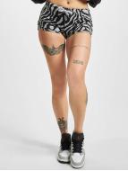 Urban Classics Shortsit Zebra harmaa