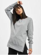 Side Zip Long Sweatshirt...