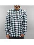 Urban Classics Skjorter Tricolor Checked Light Flanell svart