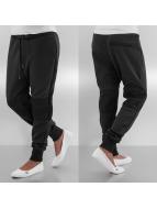 Urban Classics Spodnie do joggingu Scuba Mesh czarny
