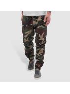 Urban Classics Spodnie do joggingu Camo Ripstop moro