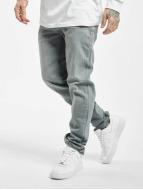Urban Classics Straight Fit Jeans Stretch Denim gri