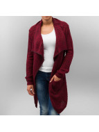 Urban Classics Strickjacke Knitted rot