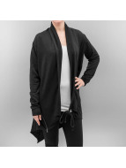 Urban Classics Strickjacke Ladies Terry schwarz