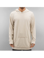 Urban Classics Sweat à capuche Oversized Open Edge beige