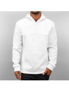 Urban Classics Sweat à capuche Neopren Side Zip blanc