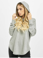 Urban Classics Sweat à capuche Ladies Oversized Terry gris