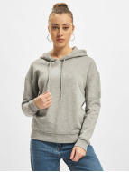 Urban Classics Sweat à capuche Ladies gris
