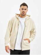 Urban Classics Sweat à capuche zippé Oversized beige
