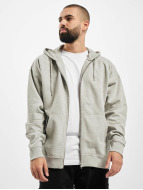 Urban Classics Sweat à capuche zippé Oversized gris