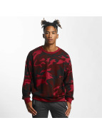 Urban Classics Sweat & Pull Camo rouge