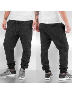 Urban Classics Sweat Pant Fitted Pixel Melange grey