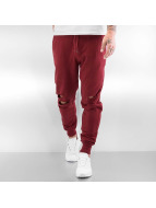 Urban Classics Sweat Pant Cutted Terry red