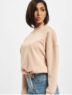 Urban Classics Swetry Ladies Oversized rózowy