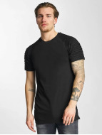 Urban Classics T-Shirt Pleat black