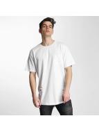 Urban Classics T-Shirt Ripped blanc