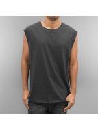 Urban Classics T-Shirt Open Edge Sleeveless grey