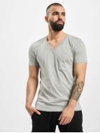 Urban Classics t-shirt Pocket grijs