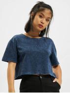 Urban Classics t-shirt Random Wash Short Oversize indigo
