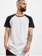 Urban Classics T-shirt longoversize Shaped Raglan Long blanc