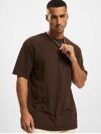 Urban Classics T-shirt longoversize Tall Tee brun