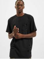 Urban Classics T-shirt Ripped nero