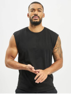Urban Classics T-Shirt Open Edge Sleeveless noir
