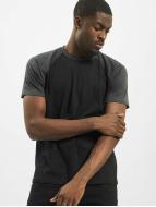 Urban Classics T-Shirt Raglan Contrast noir
