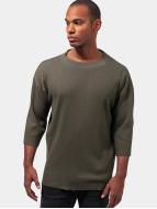 Urban Classics t-shirt Thermal Boxy olijfgroen