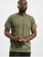 Urban Classics t-shirt Ripped olijfgroen