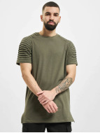 Urban Classics T-Shirt Pleat olive