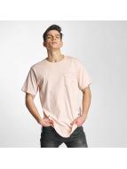 Urban Classics t-shirt Ripped pink