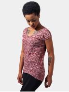 Urban Classics t-shirt Burnout rood