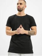Urban Classics T-Shirt Turnup schwarz