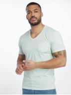 Urban Classics t-shirt Melange Pocket turquois