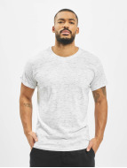 Urban Classics T-Shirt Space Dye Turnup weiß