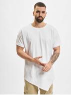 Urban Classics t-shirt Asymetric Long wit