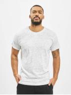 Urban Classics t-shirt Space Dye Turnup wit