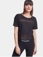 Urban Classics t-shirt Tech Mesh zwart
