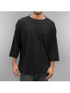 Urban Classics t-shirt Thermal Boxy zwart