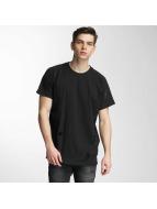 Urban Classics t-shirt Ripped zwart