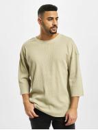 Urban Classics T-Shirts Thermal Boxy bej