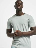 Urban Classics T-Shirts Fitted Stretch gri