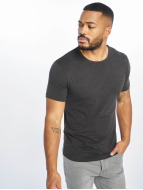 Urban Classics T-Shirts Fitted Stretch gri