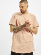 Urban Classics Tall Tees Shaped Long rosa