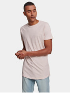 Urban Classics Tall Tees Shaped Long vaaleanpunainen